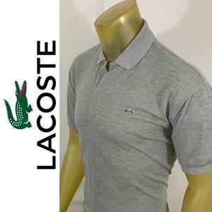 Lacoste Mesh Cotton Polo Shirt